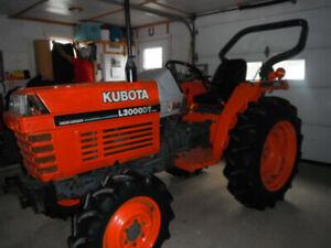 2001 kubota tractor