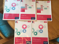 CIMA Study Texts and Exam Practise Kits