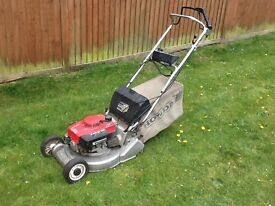 Honda self propelled with roller