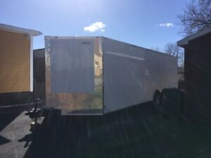 2018 24 foot 3 foot v nose car trailer used one time $9000