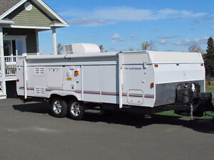 Hardtop Tent Trailer...Fleetwood Avalon 2 axles & extension