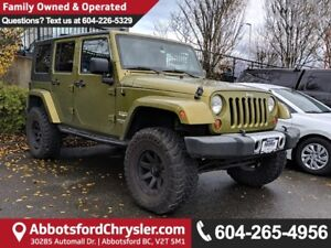 2008 Jeep Wrangler Unlimited Sahara *ACCIDENT FREE*