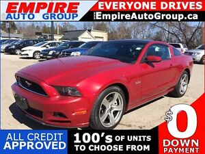 2013 FORD MUSTANG GT * RWD * LEATHER * SUNROOF * LOW KM