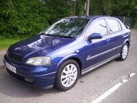 2003 (52 Reg) Vauxhall/Opel Astra 1.8i 16v SRi