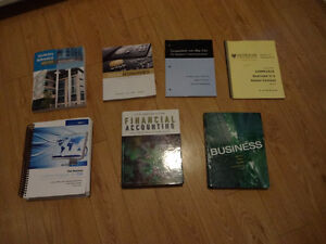 First Year Commerce Textbooks - Dalhousie