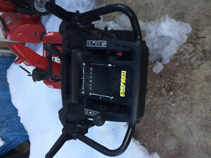 New craftsman snowblower