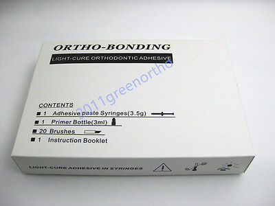 1 Set Orthodontic Light Cure Adhesiveorthodontic Bonding Material For Brackets
