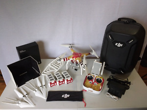 DJI Phantom 3 Profesional with the all you could need package