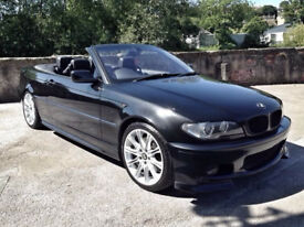 BMW E46 330Ci M-Sport Convertible Manual 6-speed