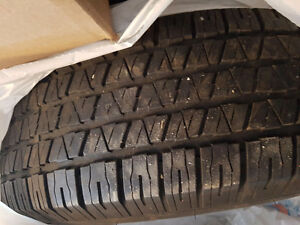 Two Eldorado 235 75r15 tires