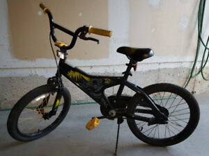 "++++ 12"" Kids Batman Bike for sale+++++++"