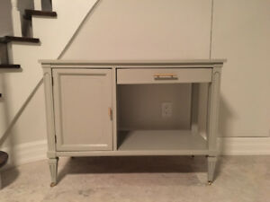 Bar cart/small buffet/entry table