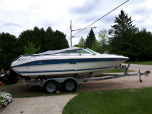 91 Sea Ray 20' bowrider w trailer