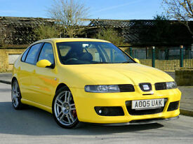2005 05 Seat Leon 1.8 20v Cupra R 5dr 225BHP BAM 1 P/OWNER+FSH+CAMBELT CHANGED+