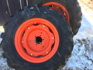 2 TRactor  tire