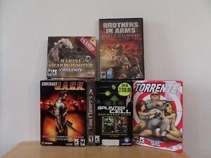 Set of 5 PC video Games Kingston Kingston Area image 2