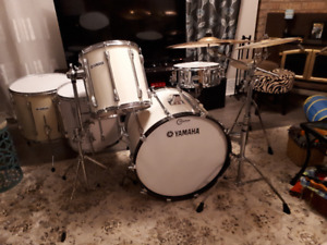 Two drum sets (Yamaha/ Pearl) for one low price!