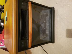 Duraflame ceramic heater