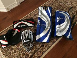 Street hockey goalie set for sale