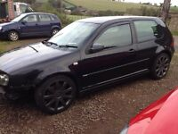 Golf MK4 Anniversary Black Headlining Kit