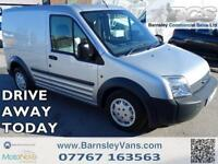 2008 58 FORD TRANSIT CONNECT T200 SWB SLD IN SILVER NO VAT PX TO CLEAR