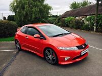 HONDA CIVIC TYPE R 2.0 GT MILANO RED 2007 57 REG FINANCE AVAILABLE GOOD BAD POOR CREDIT WELCOME