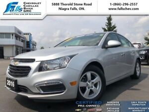 2016 Chevrolet Cruze Limited LT  SUNROOF,LEATHER,REMOTE START,RE