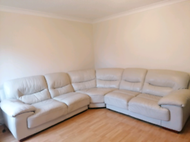 Large L Shape Sofa with footstall