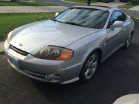 2003 tiburon GT leather low km