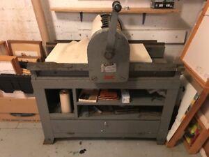 Presse manuelle ancienne / Antique Hand Proof Press