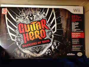 Guitar Hero: Warriors of Rock - Band Kit - Wii - New - Neuf!