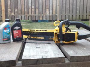 McCullough Super Pro 40 Chainsaw