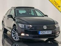 2017 67 VOLKSWAGEN PASSAT GT TDI SAT NAV LEATHER HEATED SEATS 1OWNER SVC HISTORY