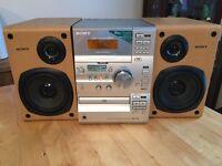 Sony CD Radio & Cassette Player Stereo Hi-Fi CMT-CP11 Speaker