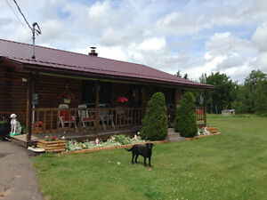 MOTIVATED SELLER LOG HOME REUDCED AGAIN  $45,000
