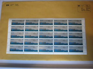 25th Anniversary, The St. Lawrence Seaway,  Cornwall Stamp Sheet Cornwall Ontario image 1