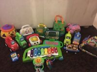 Large bundle of toys. fisher price! Leap frog! Little tikes!