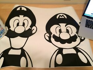New Super Mario wall decal