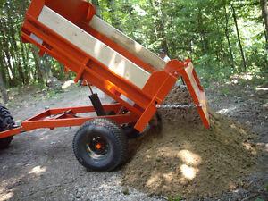 2 ton off road heavy dutydump trailer. London Ontario image 4