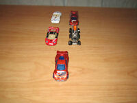Collectable Race Cars, QTY = 5