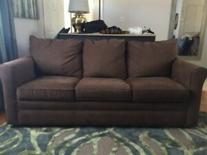 Queen sized sofa bed, barely used