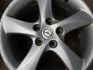 Brand: Mazda 17 inch STOCK alloy RIMS