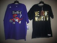 NEW : LOT 2 T-SHIRT XXL TORONTO RAPTORS WE THE NORTH NBA TEE City of Montréal Greater Montréal Preview