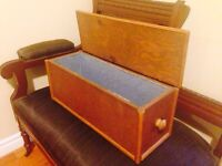 Lovely Hand Made Vintage Wooden Box