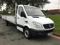 Mercedes Sprinter 313 3.5T Dropside Extra Long 19ft 10in 6 Metre Load Length
