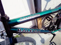 Green mountain bike for sale