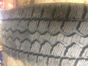 Snow tires on Ford Escape rims Cambridge Kitchener Area image 3
