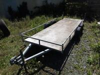 Quad bike Trailer Double