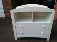 Baby Change Table White - Mothercare Taunton