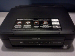 epson stylus NX230 small all in one